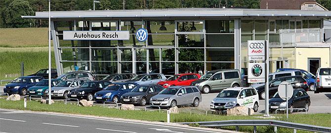 Autohaus Resch GmbH, Ihr Spezialist fr Volkswagen, Volkswagen Nutzfahrzeuge, Audi, Skoda,Autohaus, Auto, Carconfigurator, Gebrauchtwagen, aktuelle Sonderangebote, Finanzierungen, Versicherungen